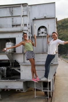 Coralie (left) & Samantha (right)