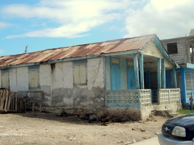 Typical house in the province