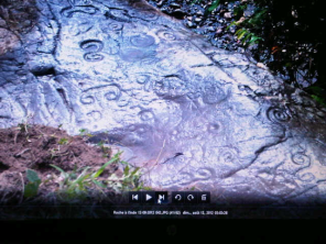 This was not taken by us but it was send in an email by Mr Mathurin. It's easier to see the symbols here.