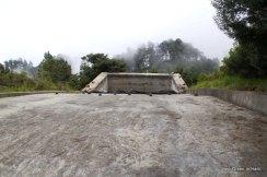 Impluvium to collect rain water