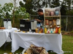 Coffee and Chocolate stand