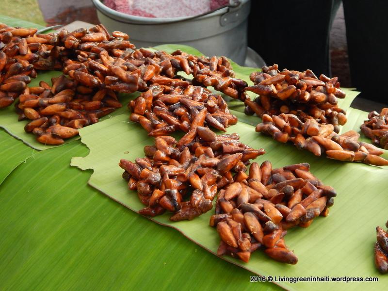 Haitian dessert made with almonds