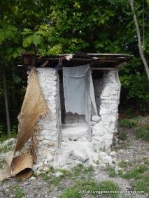 A latrine/ original toilet